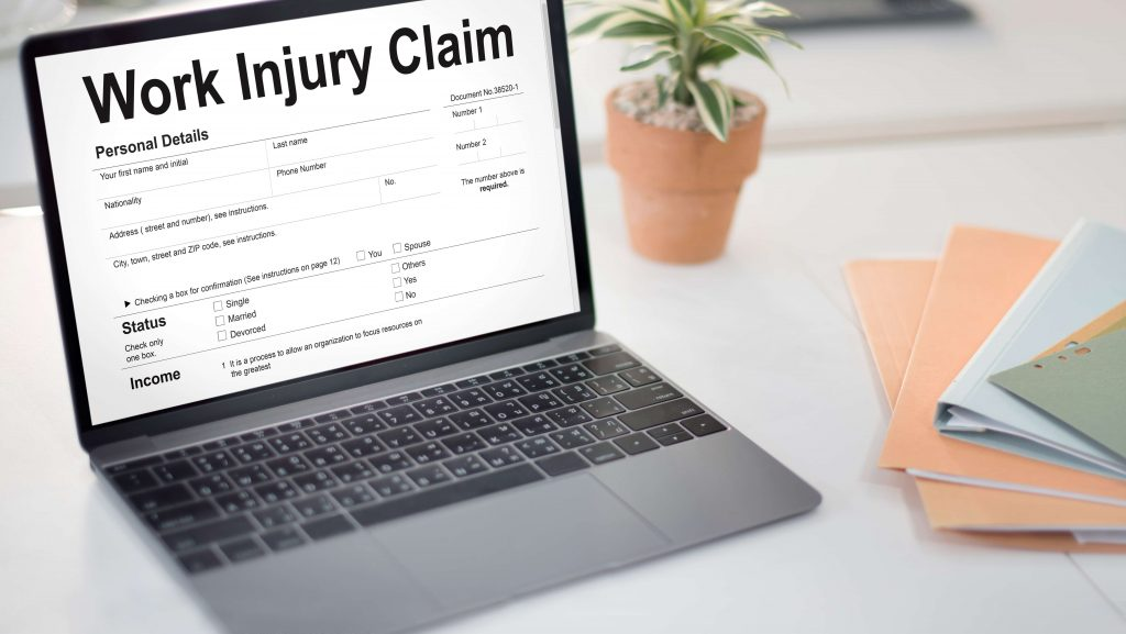 Our law firm can help with your work injury claim