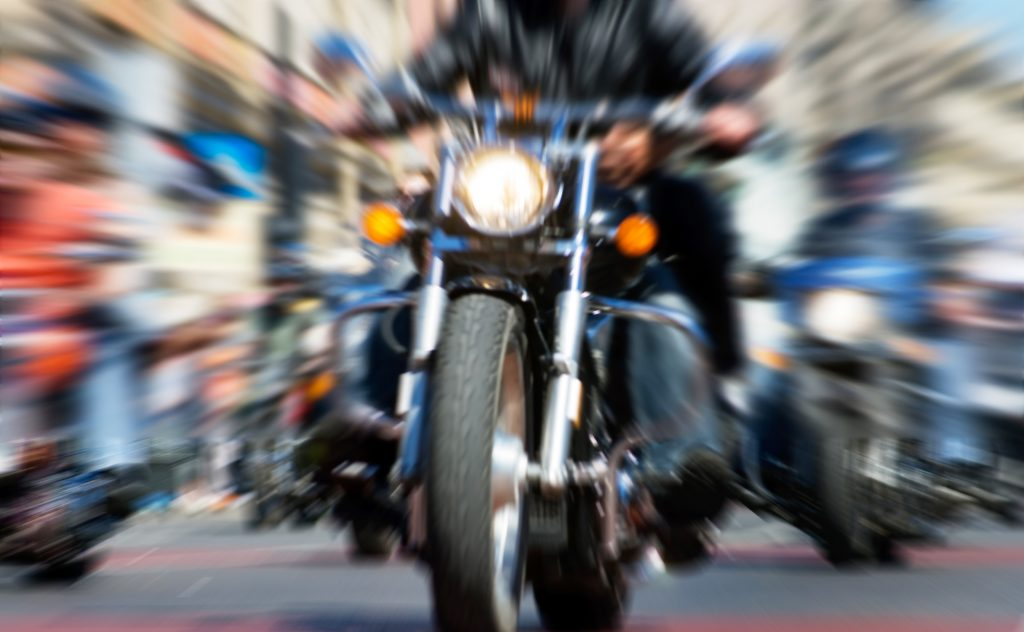 Motorcycle riders have to be extra careful on the road