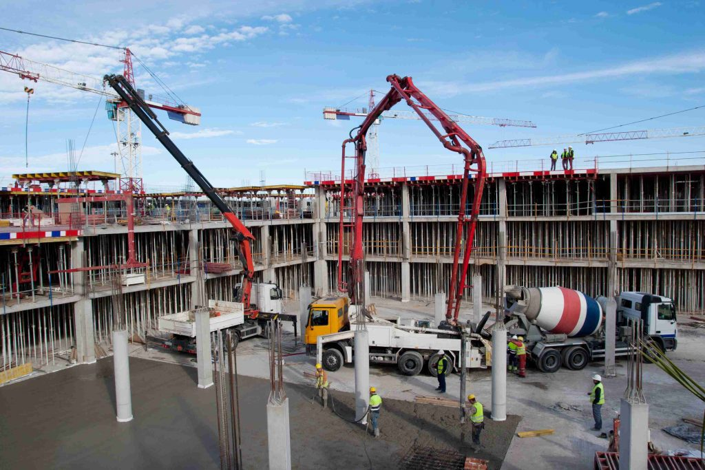 crane at texas construction site